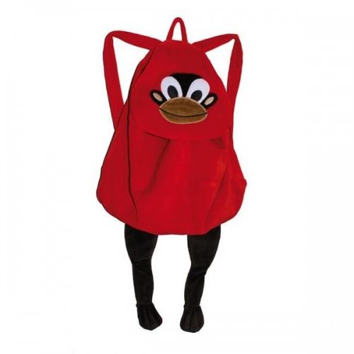 lipfish-velours-backpack-red