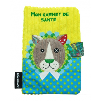 protege-carnet-de-sante-lion-book-cover-lion