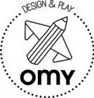 DESIGN & PLAY OMY (logo)